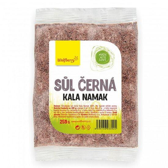 Wolfberry Himalájská sůl černá KALA NAMAK