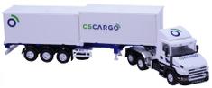 Monti Systém Stavebnica 70 CS CARGPostavte si model kamióna ** Scania ** s prívesom a kontajnery od značky Monti Systém. Ide to aj bez použitia lepidla a nanášanie farieb. Model je v mierke 1:48. Veľkou výhodou oproti ostatným modelom je pomerne jednoduchá montáž
