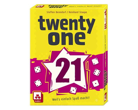 NSV igra s kockami Twenty One angleška izdaja