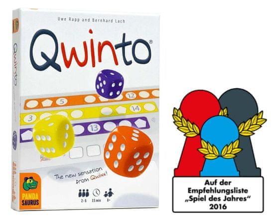 NSV igra s kockami Qwinto angleška izdaja