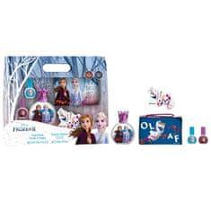 EP Line Disney Frozen - EDT 50 ml + 2x lak na nehty + pilník + kosmetická taštička