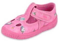 Befado papuče za djevojčice Honey 533P010, 25, roze