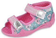Befado Papi 242P107 dekliški sandali, 18, roza