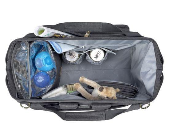 Lässig Glam Goldie Twin Backpack anthracite