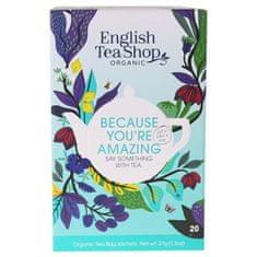 English Tea Shop MIX protože jste úžasní, BIO 20 sáčků