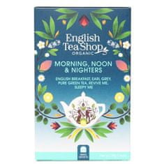 English Tea Shop MIX Ranní, polední a noční, BIO 20 sáčků