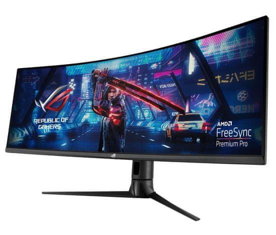 Asus ROG Strix XG43VQ VA UWFHD gaming monitor, 110.24 cm (43.4), HDR, ukrivljen (90LM0580-B01170)