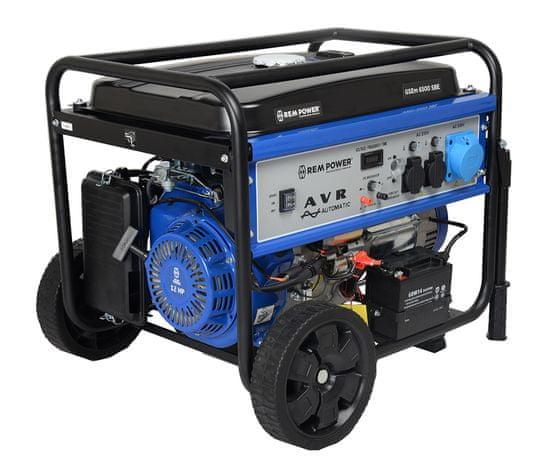 REM POWER GSEm 6500 SBE benzinski motor