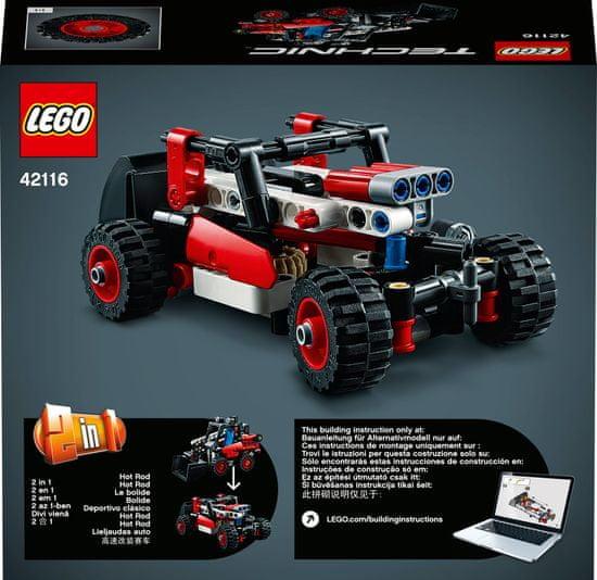 LEGO Technic 42116 Mini utovarivač