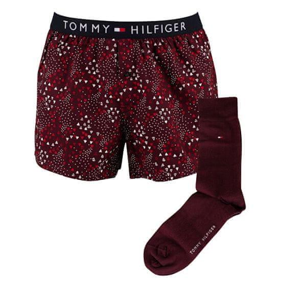 Tommy Hilfiger Zestaw prezentowy - spodenki i skarpetki UM0UM0199 7-0WE