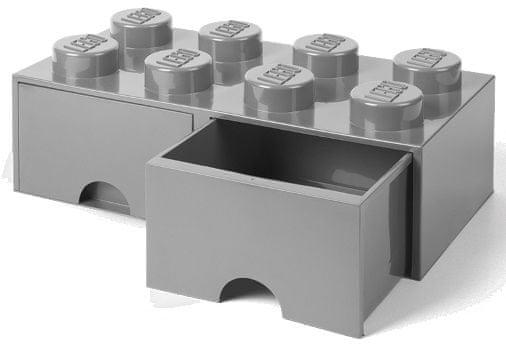 LEGO škatla za shranjevanje kock z 8 predali