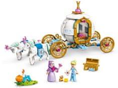 LEGO Disney Princess 43192 Hamupipőke és királyi kocsi