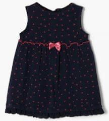 s.Oliver dívčí šaty 405.10.011.20.200.2054706 50 - 56 tmavě modrá