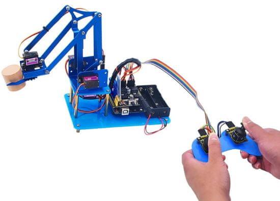 Keyestudio Arduino 4DOF robotická paže DIY V2.0