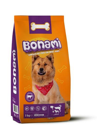 Bonami briketi za pse, z govedino, 3 kg