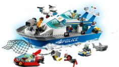LEGO City Police 60277 Policijski brod za ophodnju