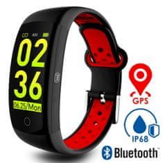 Trevi Activity Sport Wristband T-FIT 250 GPS sportska narukvica, crvena