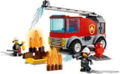 LEGO zestaw City 60280 Wóz strażacki z drabiną