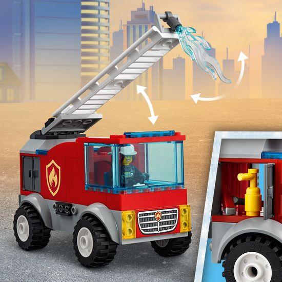 LEGO City 60280 Gasilsko vozilo z lestvijo