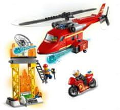 LEGO zestaw City 60281 Strażacki helikopter ratunkowy