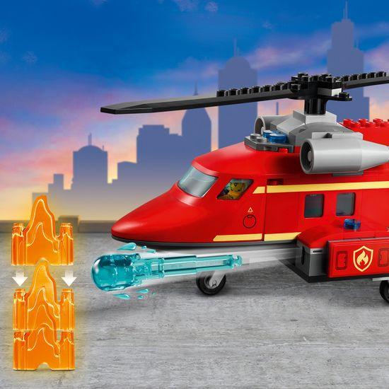 LEGO City 60281 Gasilsko-reševalni helikopter