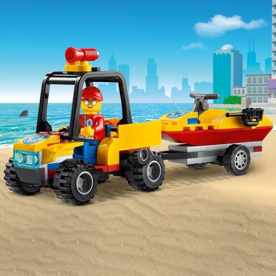 LEGO zestaw City Great Vehicles 60286 Plażowy quad ratunkowy