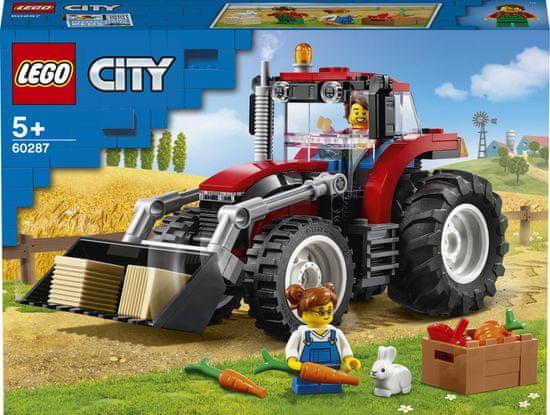LEGO zestaw City Great Vehicles 60287 Traktor