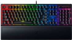 Razer BlackWidow V3 mehanska tipkovnica, Yellow Switch, črna, US, SLO gravura