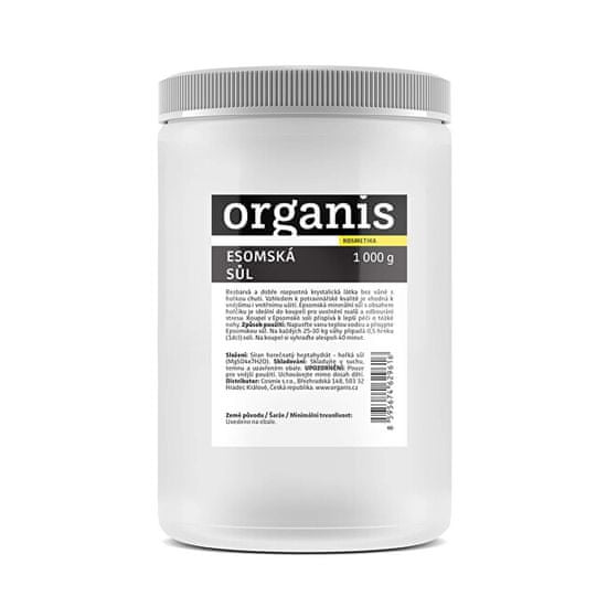 Organis Epsomská soľ 1000 g