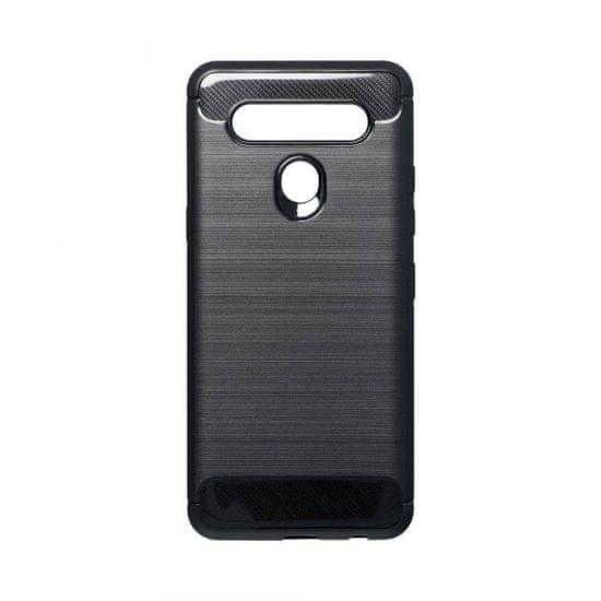 Ovitek za LG K41s, silikonski, mat karbon črn