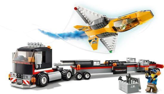 LEGO City Great Vehicles 60289 Prevoz akrobatskega letala