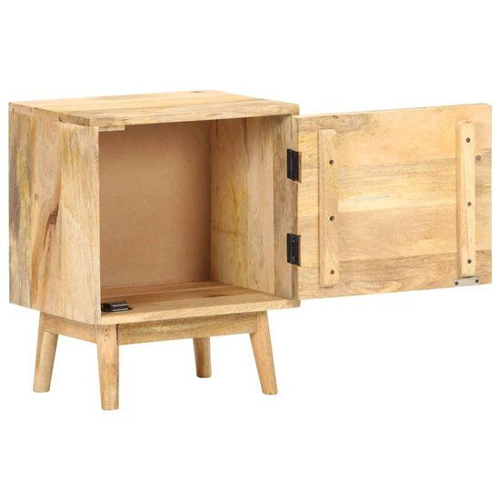 shumee nočna omarica 40x30x50 cm Masivni les iz manga