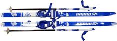 Karhu Teddy PVC set tekaških smuči in palic, 120 cm, modro-bel