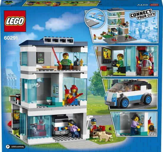 LEGO City 60291 Moderna družinska hiša