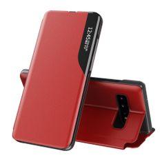 MG Eco Leather View knjižni ovitek za Huawei P40, rdeča