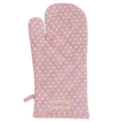 Isabelle Rose Prijemalna rokavica Polka v roza barvi 33 cm
