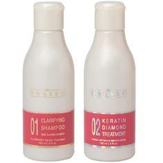 Orasey 5v1 sada Brazílsky Keratín Diamond 150ml & čistiaci šampón 150ml - Pre narovnanie vlasov