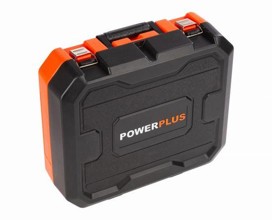 PowerPlus POWDP15210 - Aku šroubovák / vrtačka s příklepem 20V SET