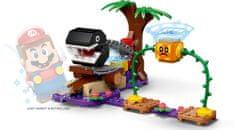 LEGO Super Mario™ 71381 Spotkanie z Chain Chompem w dżungli — zestaw dodatkowy