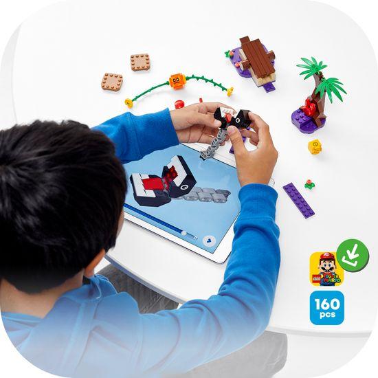 LEGO Super Mario™ 71381 Chain Chomp in srečanje v džungli – razširitveni komplet