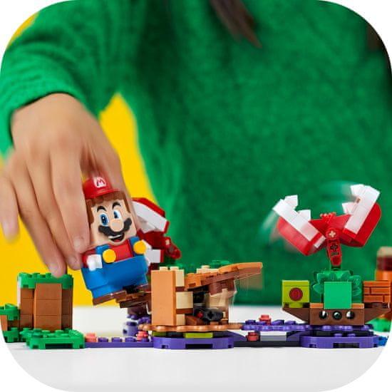 LEGO Super Mario™ 71382 Zawikłane zadanie Piranha Plant — zestaw rozszerzający