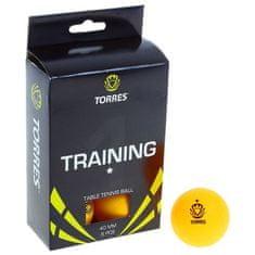 Torres Školení stolní tenis míček, 1 hvězdička, sada 6 ks