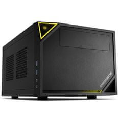 Sharkoon Shark Zone C10 gaming ohišje, Mini ITX, črno