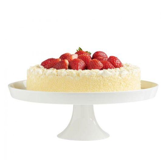 VonShef keramično stojalo za torto s pokrovom