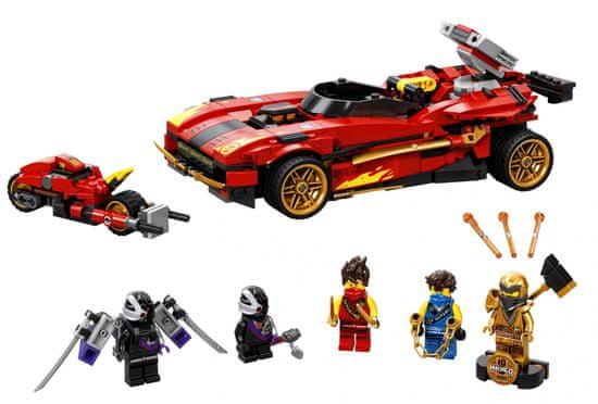 LEGO Ninjago 71737 Kaiov rdeči uničevalec
