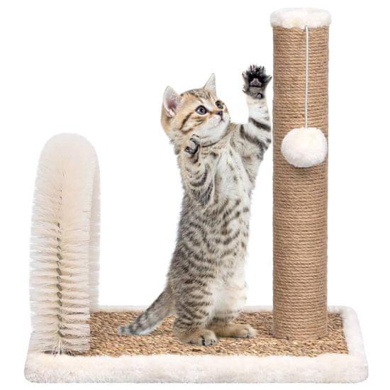 shumee Mačka za praskanje mačk s pentljo in ščetko