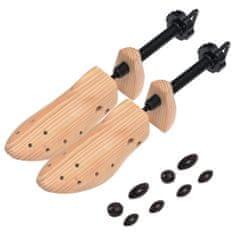 shumee Prawidła do butów, rozmiar 36-40, lite drewno sosnowe