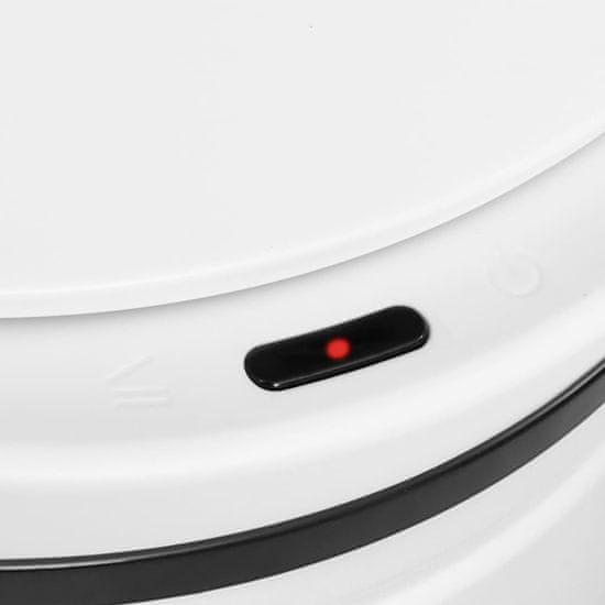 slomart Avtomatski smetnjak senzorski 70 L karbonsko jeklo bel