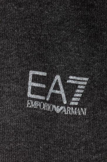 Emporio Armani Šedé mikinové šaty s kapucí, Emporio Armani - XS