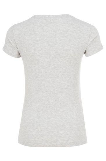 Emporio Armani Dámské triko Empori Armani bílé s obrázkem - S